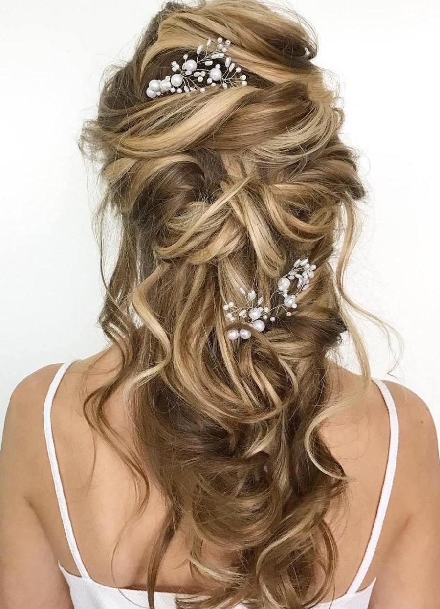 12 atemberaubende Hochzeitsfrisuren für langes Haar - StyleState.de